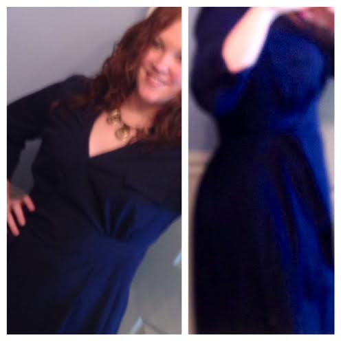 Stitch Fix #1: Yea, I'm Keeping the Wrap Dress!