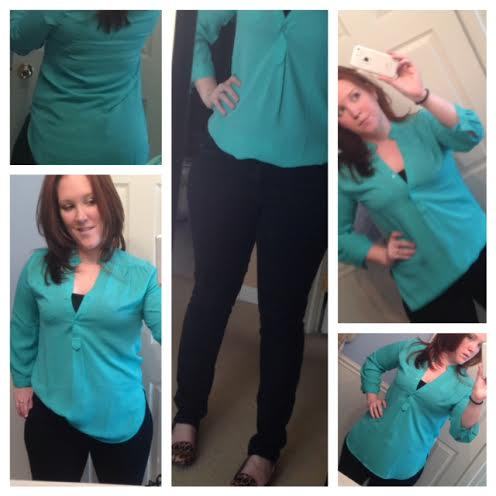 Stitch Fix #2: A Dress Up/Dress Down Top