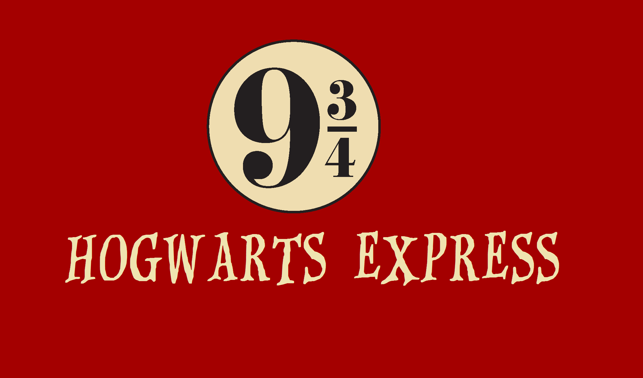 Nifty image in platform 9 3 4 sign printable
