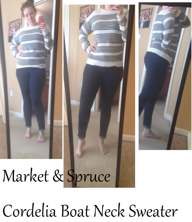 Market and Spruce sweater